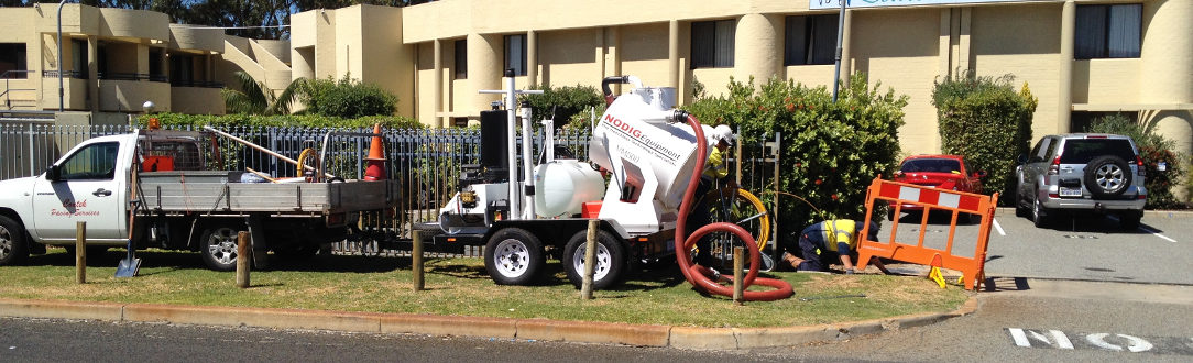 vacuum excavator helping NBN
